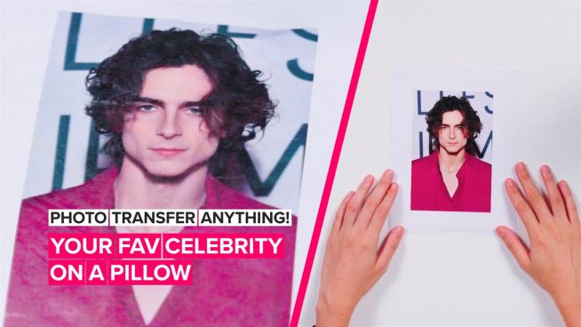How to Photo Transfer Anything: Getting one step closer to your fav celebs