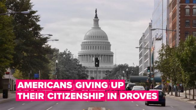Here's why thousands of Americans are giving up their citizenship