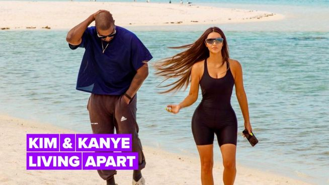 Are Kim & Kanye headed for divorce? Not so fast…