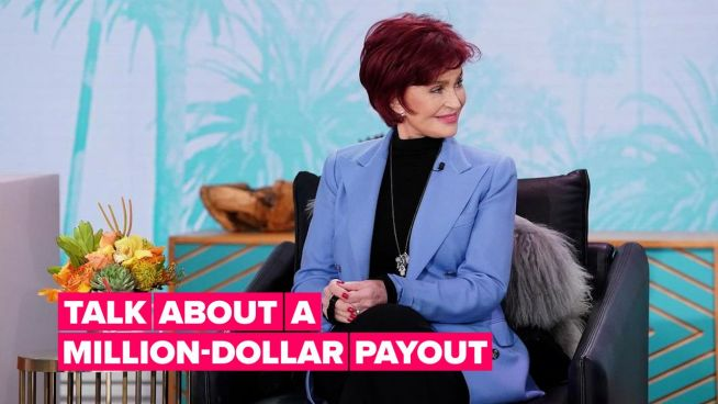 Sharon Osbourne is earning millions from leaving 'The Talk'