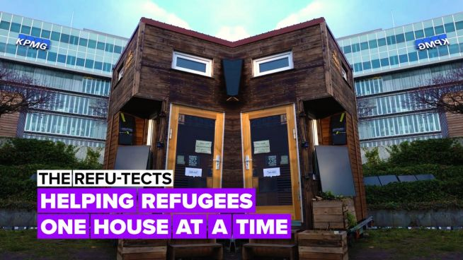 Helping refugees one house at a time
