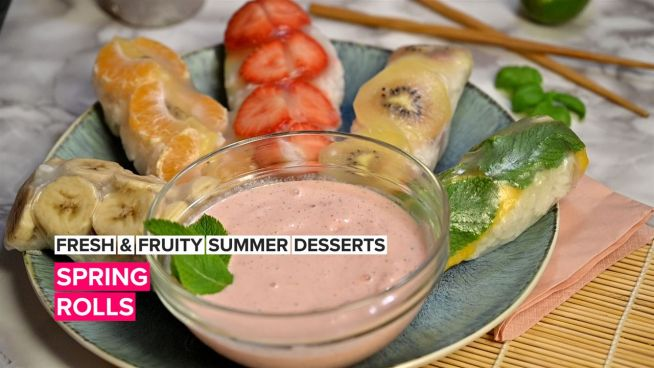 Fresh & Fruity Summer Treats: Spring Rolls