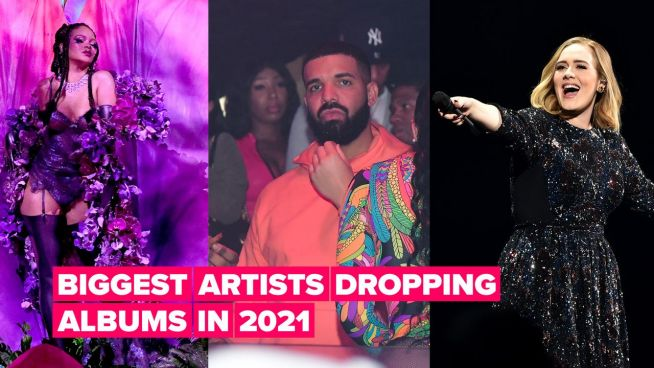 5 Biggest music albums dropping in 2021, from Drake to Adele