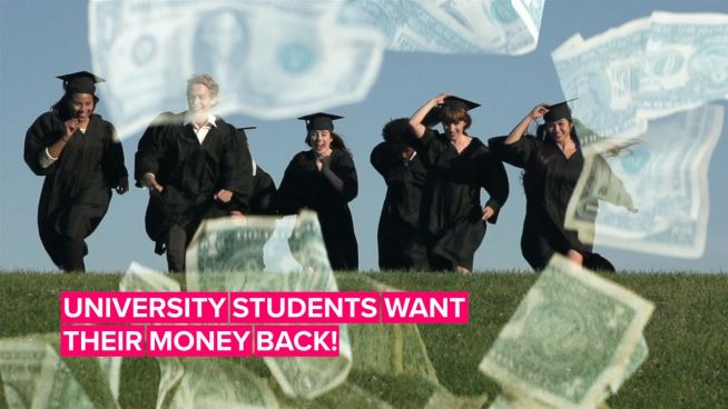 University students are filing lawsuits over tuition fees