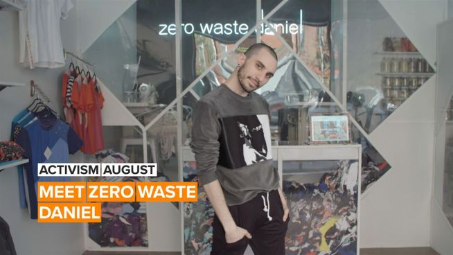 Activism August: Daniel is reversing the trend of fashion waste