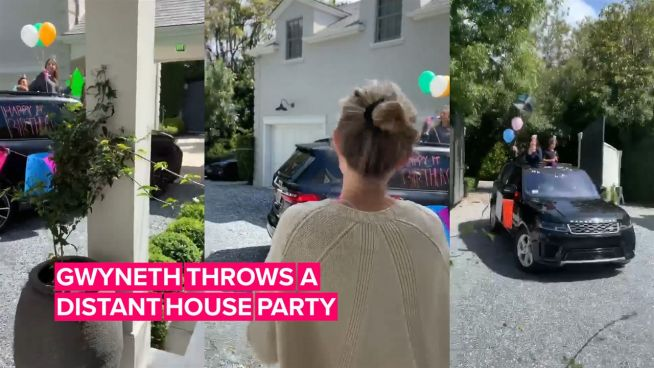 Gwyneth Paltrow's socially distant party has nothing on these block parties
