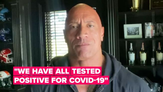 Dwayne Johnson shares his 3 best tips for beating Covid-19