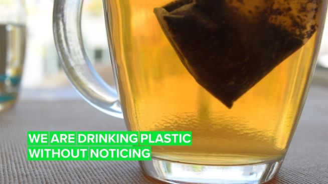 Even tea bags: Microplastics are in these common food and drinks