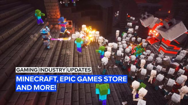 Gaming industry update: Minecraft, Epic Games Store and more!