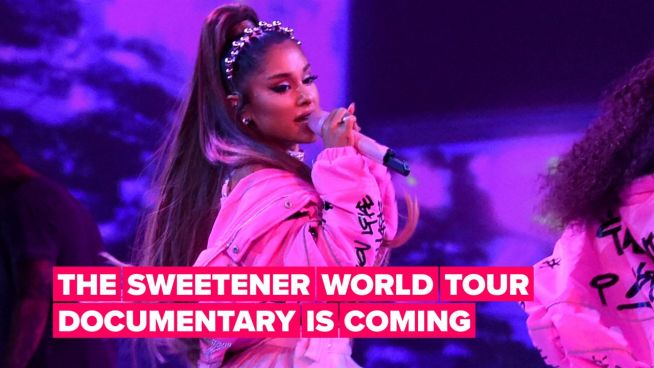 Netflix & YouTube in bidding war for Ariana Grande's Sweetener Tour film
