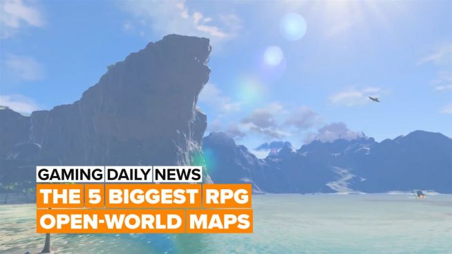 Can you guess which RPG open-world games have the biggest maps?