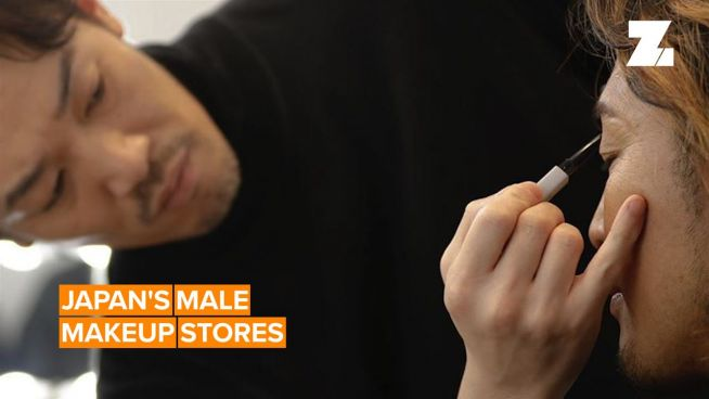 Japan's all-male makeup store now has four locations