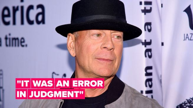 Bruce Willis speaks out after refusing to wear a mask in a pharmacy