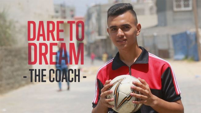 The young coach of a war-torn country