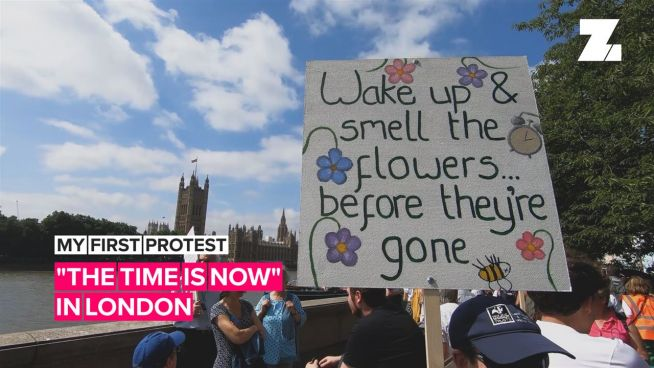 My First Protest: 'The Time is Now' in London
