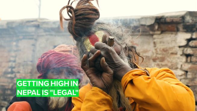 If you got the chance to smoke weed in Nepal, would you take it?