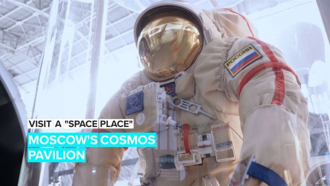 Visit a 'Space Place': Moscow's Cosmos Pavilion