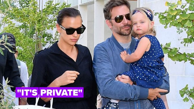 Irina Shayk explains why she refuses to talk about her relationship with Bradley Cooper