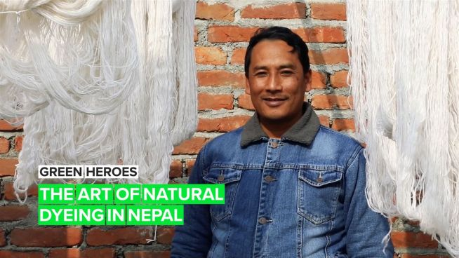 Green Heroes: The dyer keeping an eco-friendly tradition alive