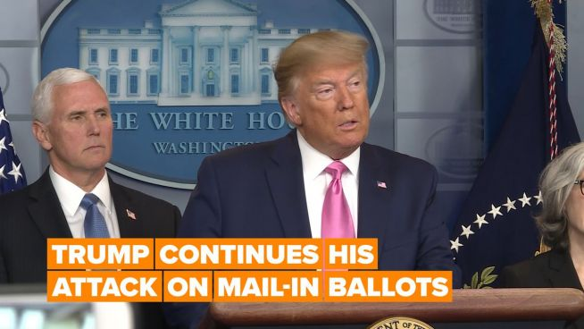 Is Trump's beef with mail-in voting valid?