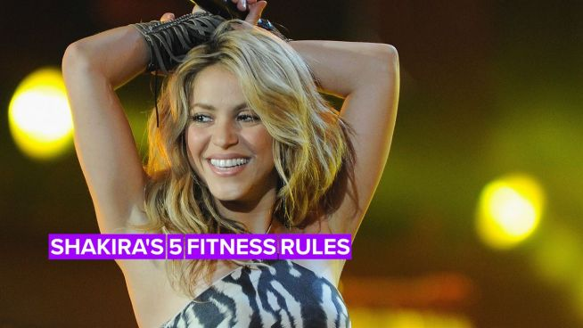 How Shakira is getting in shape for the Super Bowl