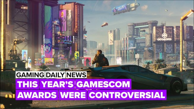 The Gamescom Awards were a bit different this year!