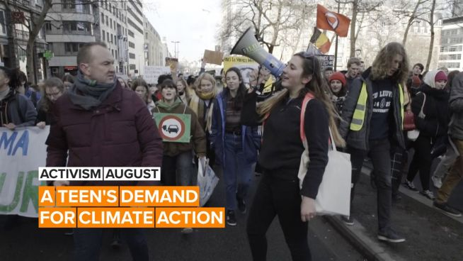 Activism August: Pili's army of students against climate change