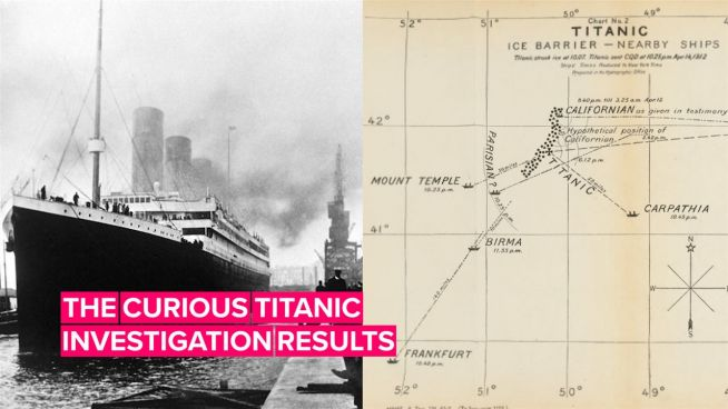The fascinating investigation findings after the Titanic sank