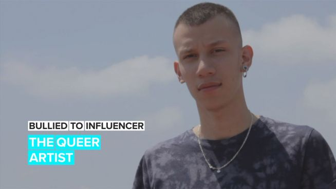 Bullied To Influencer: 'Painting helps me dodge my problems'