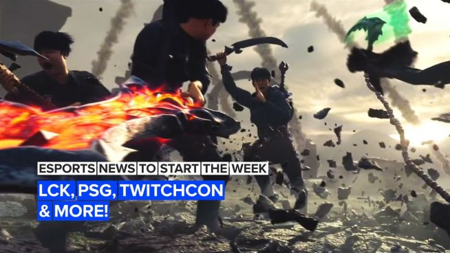 Esports News to Start the Week: LCK, PSG, TwitchCon and more!