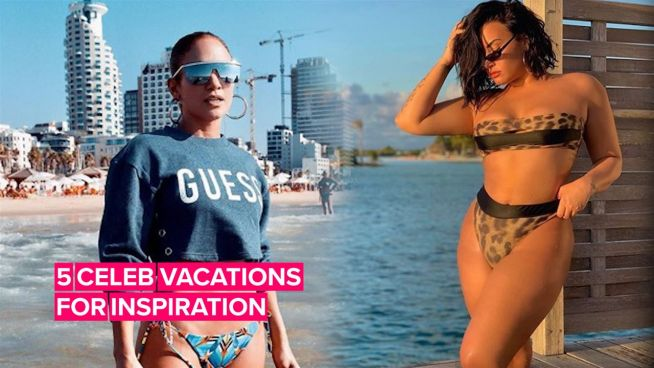 The summer holidays to book according to 5 celebs