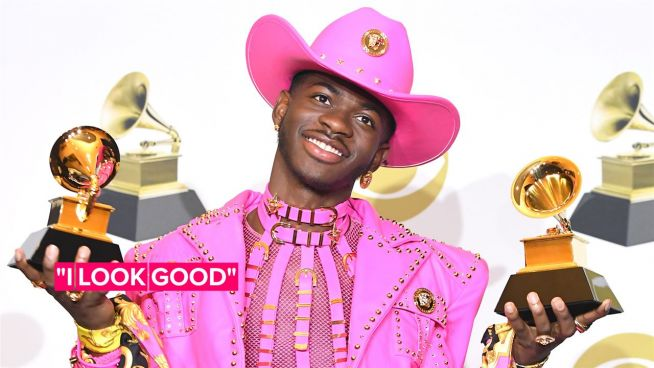 Lil Nas X claps back at homophobic rant against his Grammy outfit