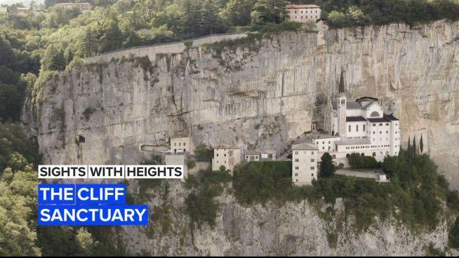 Sights with Heights: The cliff side sanctuary 'between heaven and earth'