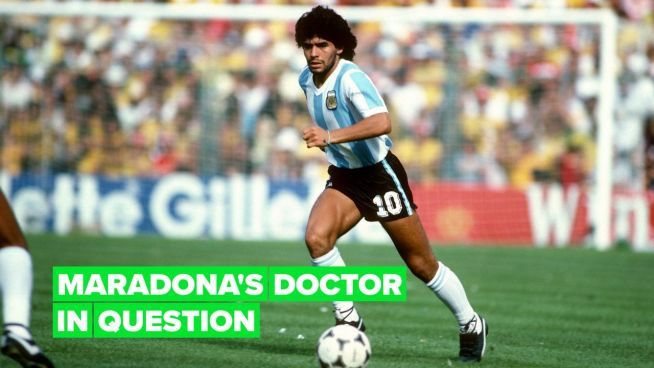 People start to point fingers after Diego Maradona's death