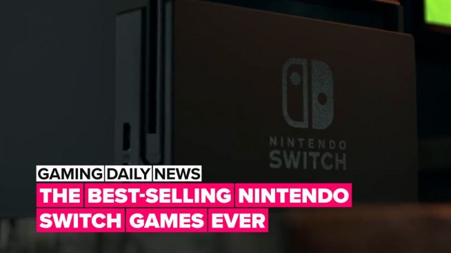 These are the best-selling Nintendo Switch games of all time!