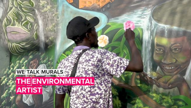 Meet the man using art to inspire others to help the planet