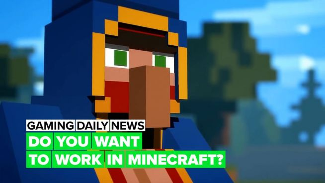 Do you play 'Minecraft' and need a job?