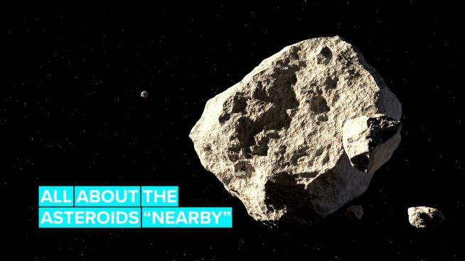 Asteroid August? 6 asteroids will pass Earth this month