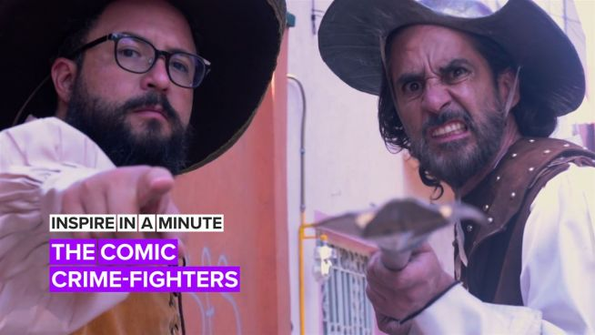 Inspire in a Minute: The comedians fighting crime with humour