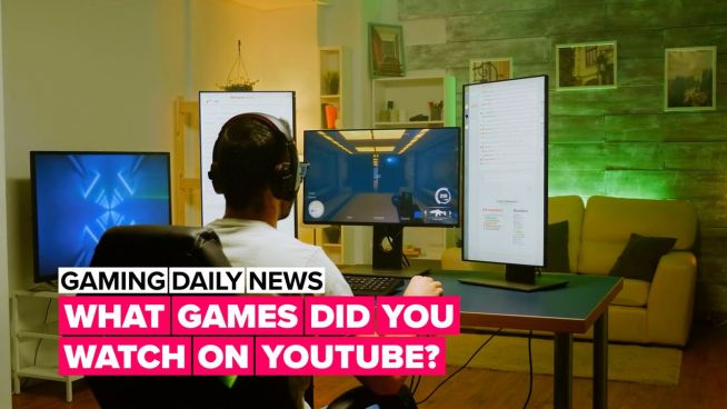 What was the most-watched game on YouTube?