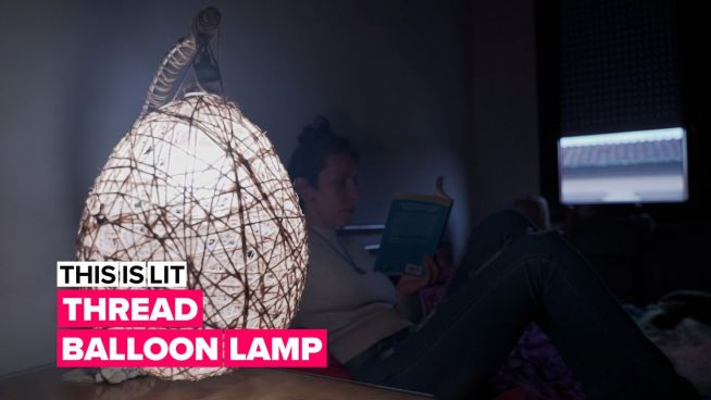 Light up your life: The macrame lamp