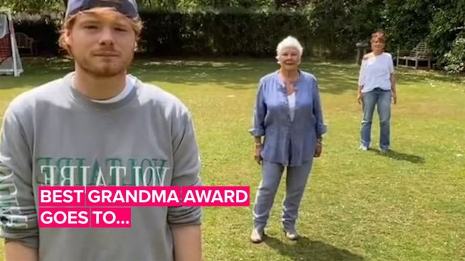 Dame Judi Dench is now a TikTok star