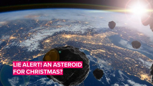 """The truth about the """"Christmas asteroid"""""""