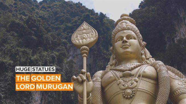 Huge Statues: This Hindu deity cost over €300,000 to build