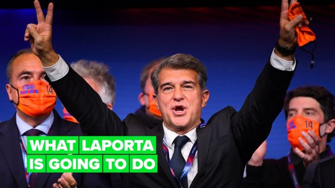 Laporta is ready for a new Barça