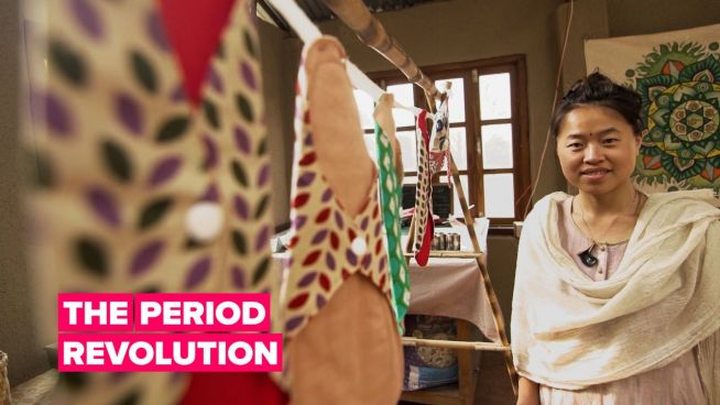 One woman's fight against period poverty
