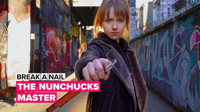 Break a nail: The nunchunks champ breaking gender stereotypes