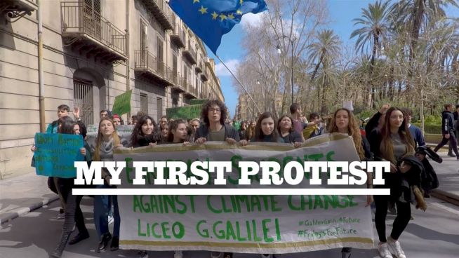 My First Protest: Marching for climate change in Italy