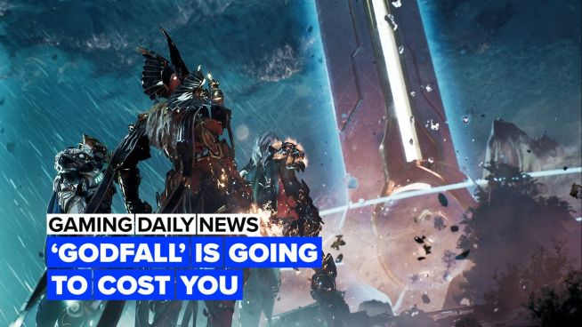 Turns out, Godfall is going to be an online game…