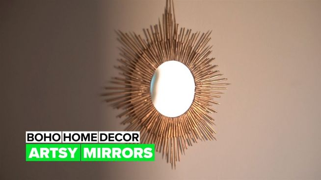 Boho Home Decor: Mirror, mirror on the wall, who's the coolest of them all?